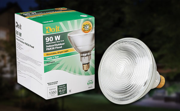 Do it PAR38 Halogen Floodlight Light Bulb