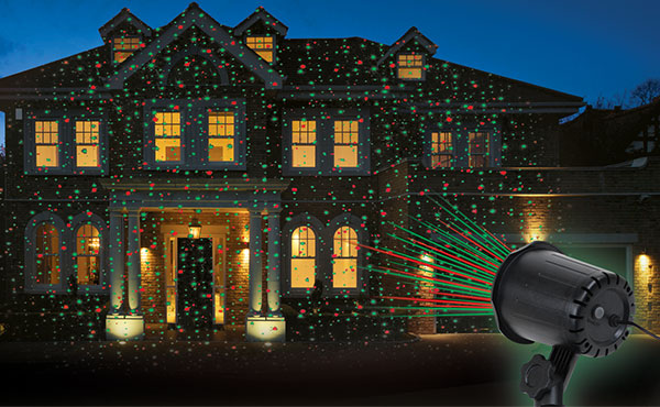 Prime Wire & Cable Holiday Laser Light Projector